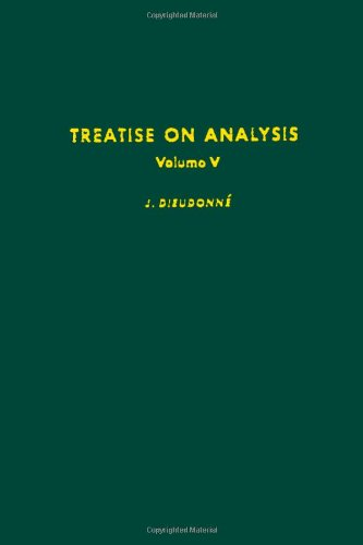 9780122155055: Treatise on Analysis: v. 5 (Pure and applied mathematics)