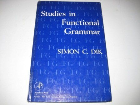 9780122163500: Studies in Functional Grammar