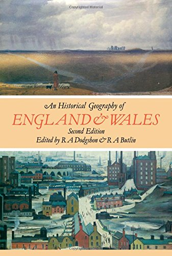 9780122192531: Historical Geography of England and Wales