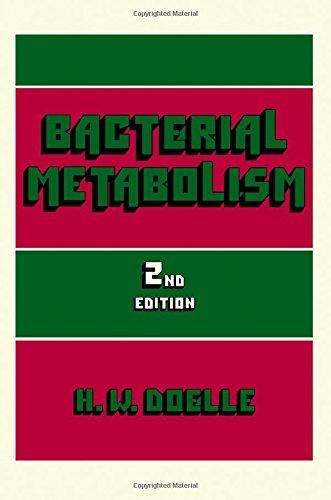 9780122193521: Bacterial Metabolism