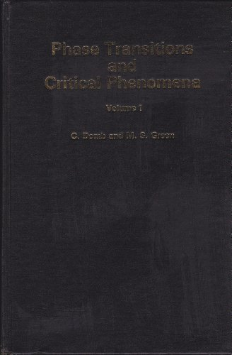 9780122203015: Phase Transitions and Critical Phenomena: v. 1