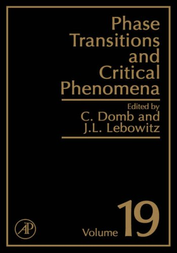 9780122203190: Phase Transitions and Critical Phenomena Volume 19: v. 19