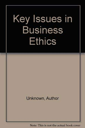 9780122205415: Key Issues in Business Ethics
