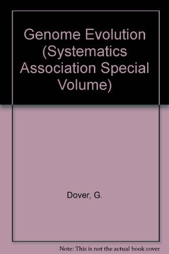 9780122213809: Genome Evolution (Systematics Association Special Volume)
