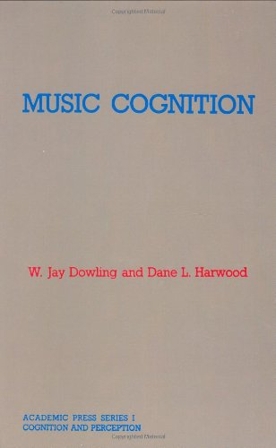 9780122214301: Music Cognition (Academic Press Series in Cognition & Perception)