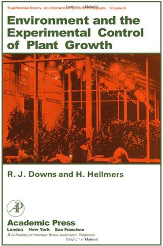 9780122214509: Environment and the Experimental Control of Plant Growth (Experimental Botany ; V. 6)