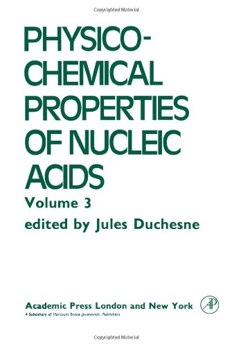 9780122229039: Intra- and Intermolecular Interactions, Radiation Effects in DNA Cells, and Repair Mechanisms (Physico-Chemical Properties of Nucleic Acids, Vol. 3)