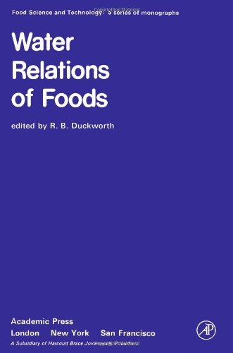 9780122231506: Water Relations of Foods: Conference Proceedings (Food Science & Technology Monographs)