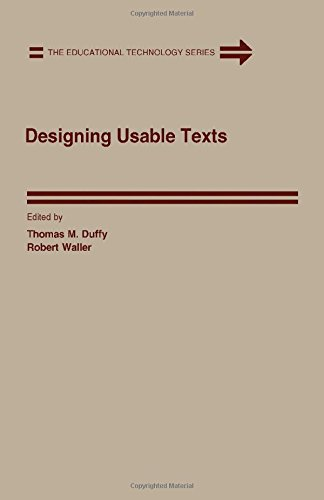 9780122232602: Designing Usable Texts (Educational Technology Series)