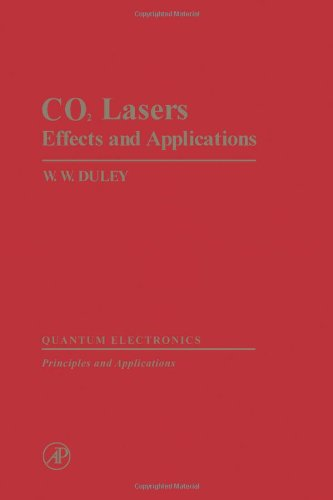9780122233500: Carbon Dioxide Lasers: Effects and Applications (Quantum electronics, principles and applications)