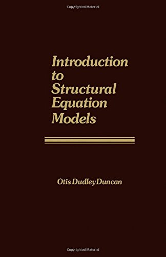 9780122241505: Introduction to Structural Equation Models (Studies in Population)