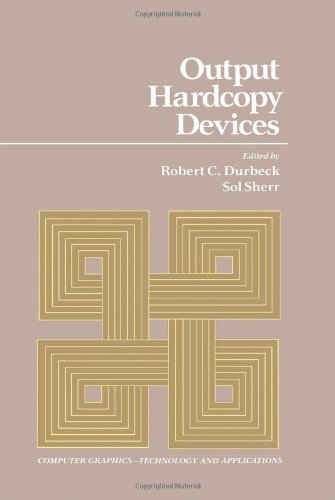 9780122250408: Output Hardcopy Devices (Computer Graphics -- Technology and Applications)