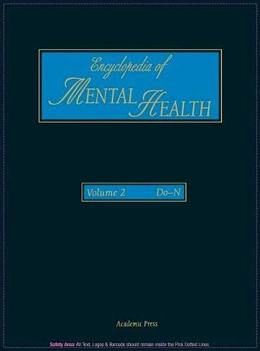 9780122266775: Encyclopedia of Mental Health