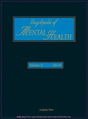 9780122266775: Encyclopedia of Mental Health