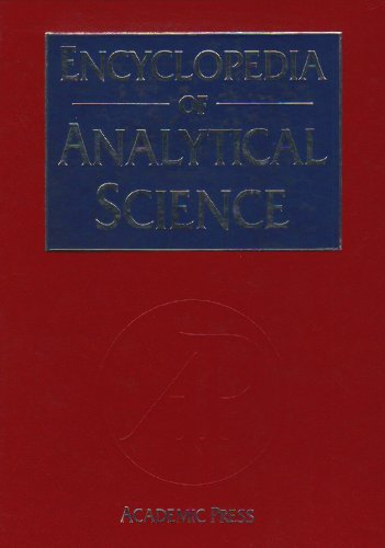 9780122267017: Encyclopedia Analytical Science Volume 1