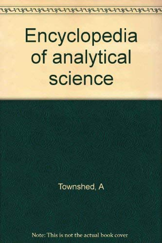 9780122267062: Encyclopedia of analytical science