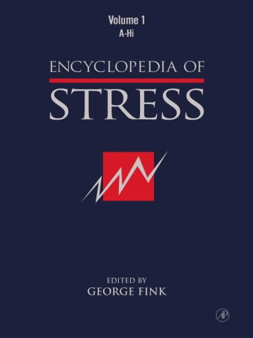 9780122267352: Encyclopedia of Stress, Three-Volume Set