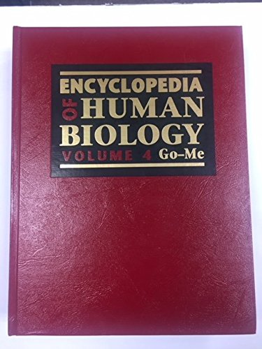 9780122267543: Encyclopedia of Human Biology, 4