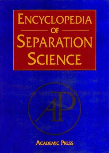 9780122267703: Encyclopedia of Separation Science: Volume 1-10