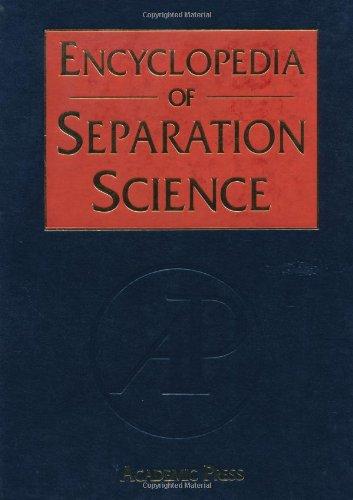 9780122267703: Encyclopedia of Separation Science