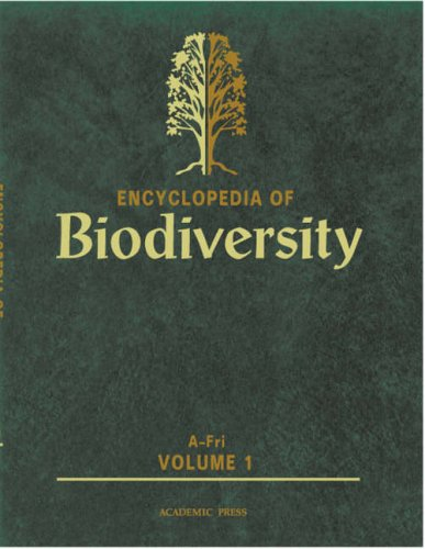 9780122268656: Encyclopedia of Biodiversity
