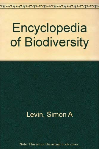 9780122268694: Encyclopedia of Biodiversity