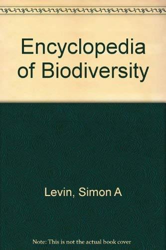 9780122268694: Encyclopedia of Biodiversity