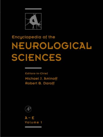 9780122268700: Encyclopedia of the Neurological Sciences