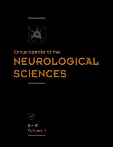 9780122268700: Encyclopedia of the Neurological Sciences (4 Volume Set)