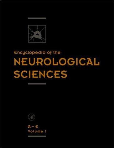 9780122268717: Encyclopedia of the Neurological Sciences : 4 Volume Set