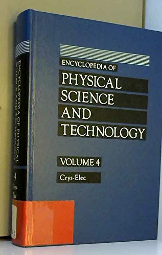 9780122269042: ENCYCLOPEDIA OF PHYSICAL SCIENCE & TECHNOLOGY 4