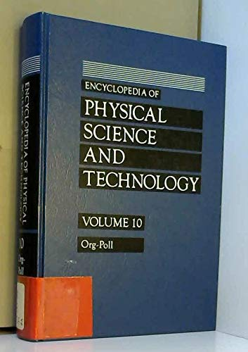 9780122269103: Encyclopedia of Physical Science & Technology, 10