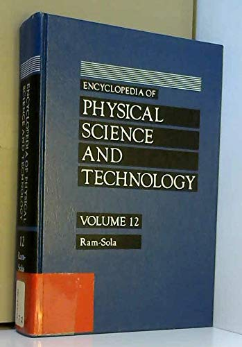 9780122269127: Encyclopedia of Physical Science and Technol Volume 12