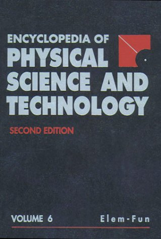 9780122269301: Encyclopedia of Physical Science and Technology, Eighteen-Volume Set, Second Edition: 18 Volume Set