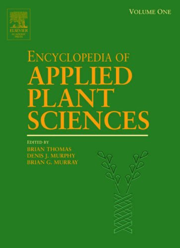 9780122270505: Encyclopedia of Applied Plant Sciences: Volume 1-3