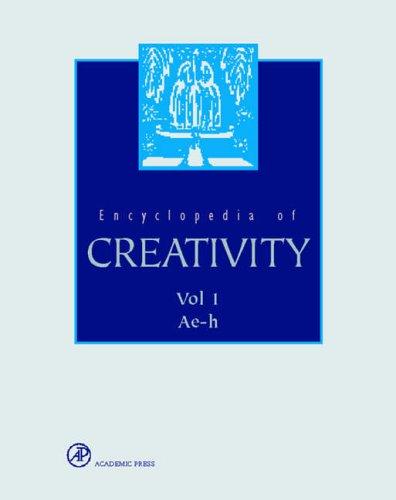 9780122270758: Encyclopaedia of Creativity (2 Volume Set)