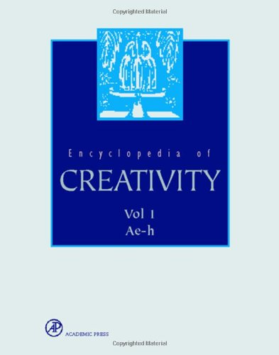 9780122270758: Encyclopedia of Creativity