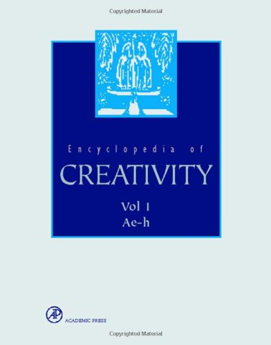 9780122270765: RUNCO - PRITZKER ENCYCLOPEDIA OF CREATIVITY
