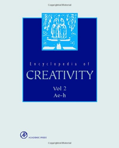 9780122270772: RUNCO ET AL ENCYCLOPEDIA OF CREATIVITY VOL 2