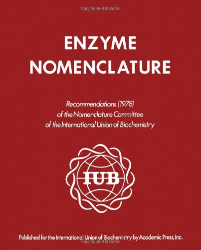 9780122271601: Enzyme Nomenclature 1978: Recommendations of the Nomenclature Committee of the International Union of Biochemistry