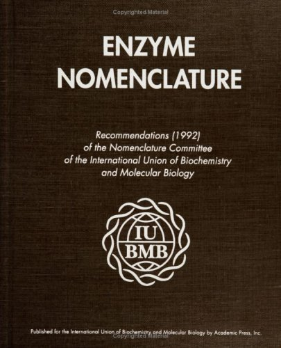 9780122271649: Enzyme Nomenclature 1992: Recommendations of the Nomenclature Committee of the International Union of Biochemistry and Molecular Biology and the Nomenclature and Classification of Enzymes