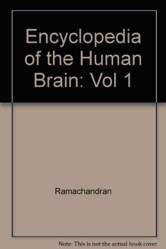9780122272110: Encyclopedia of the Human Brain: Vol 1