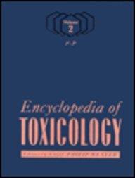 9780122272219: Encyclopedia of Toxicology, Three-Volume Set: Encyclopedia of Toxicology, Volume 1