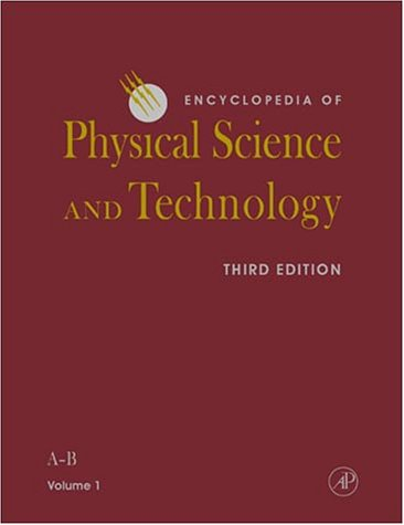 9780122274107: Encyclopedia of Physical Science and Technology, Third Edition (Encyclopedia of Physical Science and Technology, Eighteen-Volume Set)