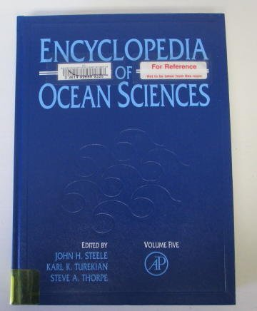 Encyclopedia of Ocean Sciences: Vol 5: John H. Steele,