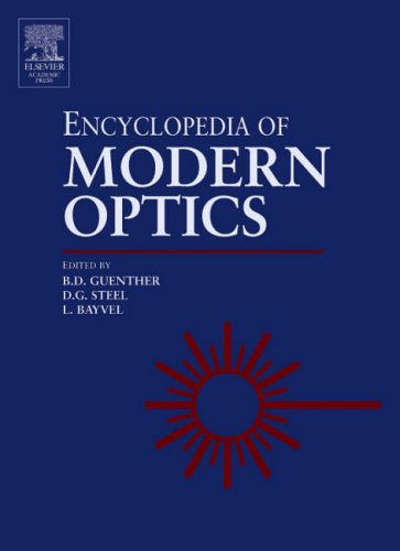 9780122276002: Encyclopedia of Modern Optics: v. 1-5