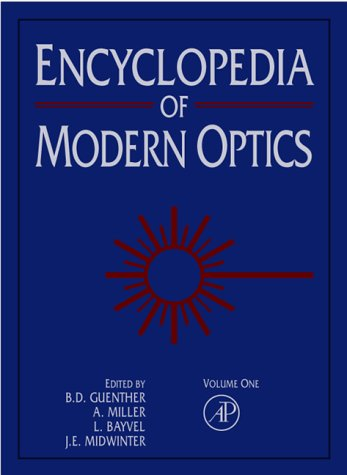 9780122276002: Encyclopedia of Modern Optics, Five-Volume Set