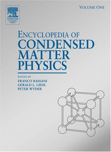 9780122276101: Encyclopedia of Condensed Matter Physics (6 Vol set))
