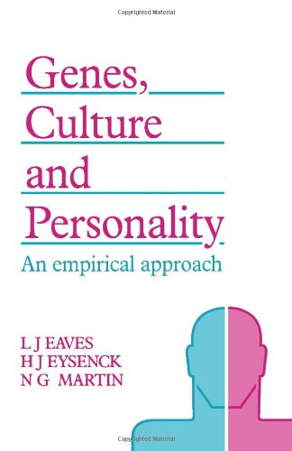 9780122282904: Genes, Culture, and Personality: An Empirical Approach