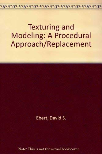 9780122287619: Texturing and Modeling ***Replacement*** Disk: A Procedural Approach